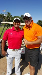 Kobus Tosen golf with breyton paulse
